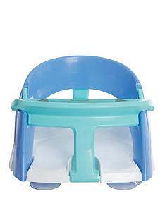 dreambaby-dreambaby-premium-bath-seat-with-openclose-front-t-bar-blue