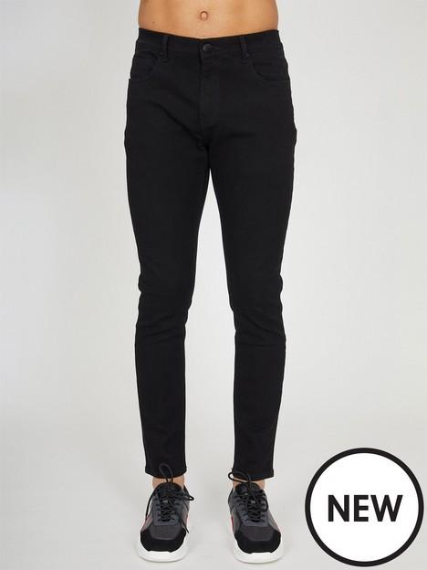 criminal-damage-essentialnbspslim-fit-jeans-black