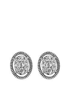 love-diamond-love-diamond-9ct-white-gold-016ct-diamond-oval-stud-earrings
