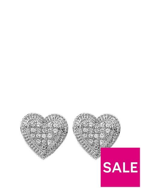 love-diamond-love-diamond-925-rhodium-plated-010ct-diamond-heart-stud-earrings