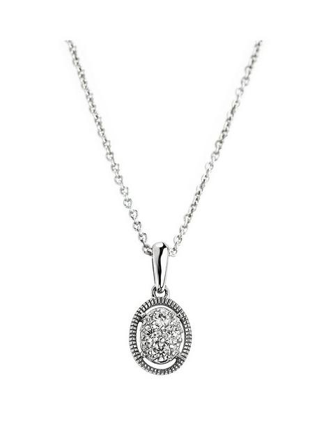 love-diamond-9ct-white-gold-016ct-diamond-oval-pendant-necklace