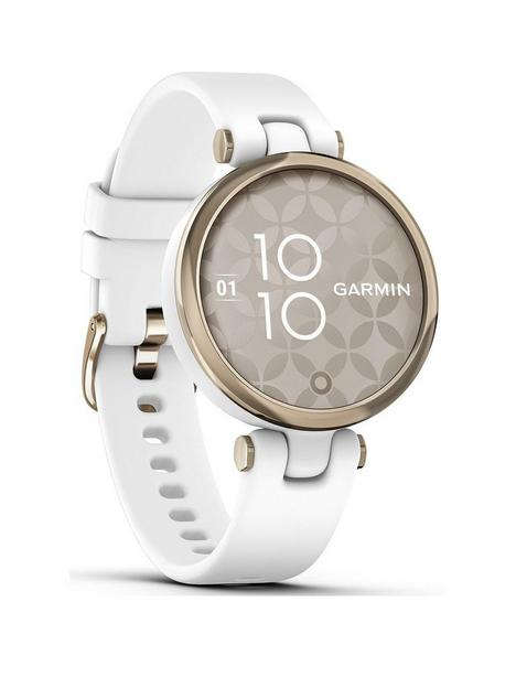 garmin-lily-sport-edition-cream-gold-bezel-with-white-case-and-silicone-band