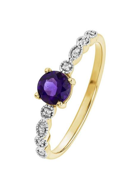 love-gem-9ct-yellow-gold-amethyst-and-diamond-ring
