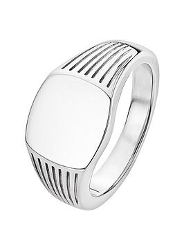 the-love-silver-collection-sterling-silver-signet-ring