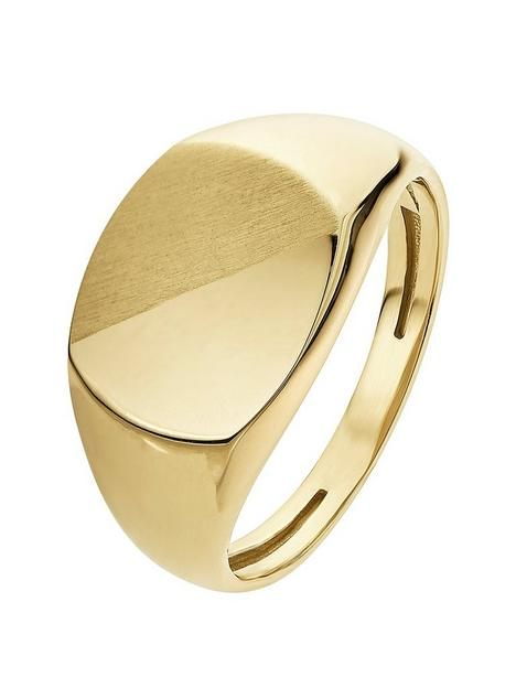 love-gold-9ct-yellow-gold-signet-ring