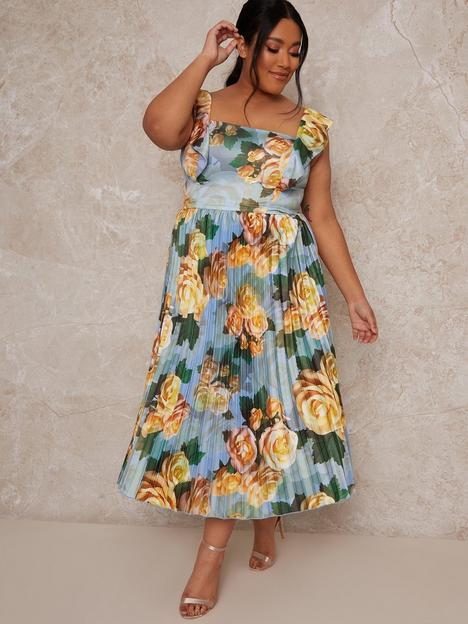 chi-chi-london-curve-chi-chi-curve-ruffle-floral-print-midi-dress
