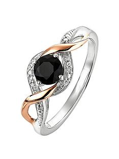 love-gem-love-gem-9ct-rose-gold-and-sterling-silver-black-sapphire-and-diamond-twist-ring