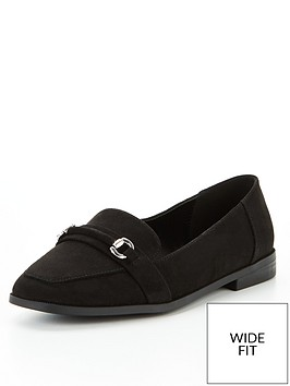 v-by-very-wide-fit-loafer-black