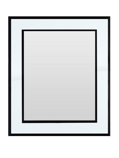 premier-housewares-mirrored-photo-frame-8x10