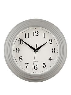 premier-housewares-classic-grey-wall-clock