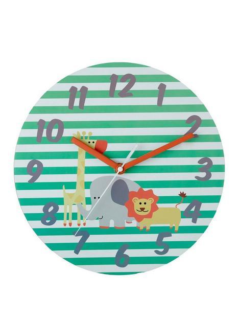 premier-housewares-safari-wall-clock