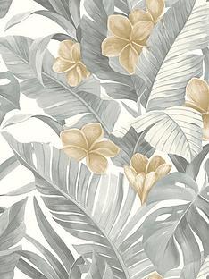 nuwallpaper-neutral-paradise-stick-on-wallpaper