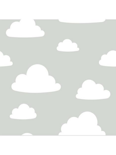 nuwallpaper-clouds-stick-on-wallpaper