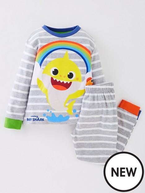 baby-shark-unisex-baby-shark-stripe-long-sleeve-pyjamas