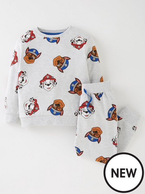 paw-patrol-boysnbsp2-piece-all-over-print-sweat-and-jogger-set-grey