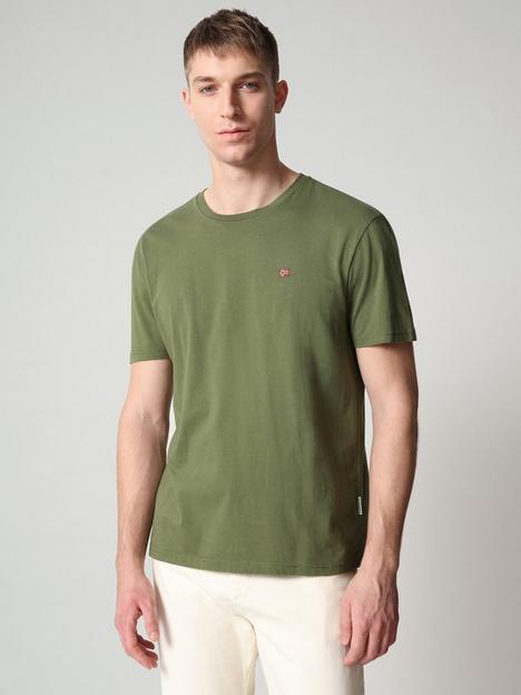 napapijri-flag-logo-t-shirt-green