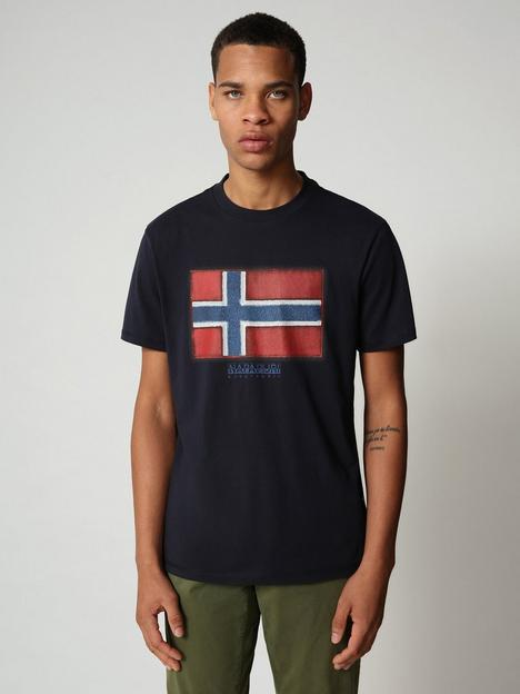 napapijri-flag-logo-t-shirt-blue
