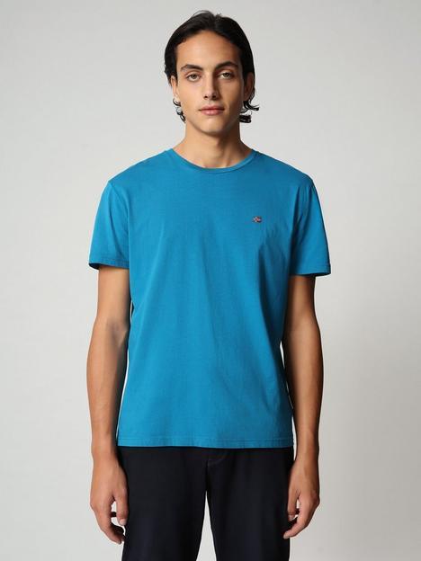 napapijri-chest-logo-t-shirt-blue