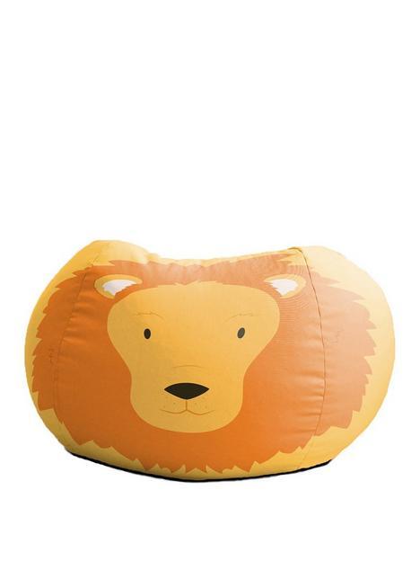 rucomfy-lion-animal-bean-bag