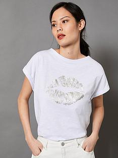 mint-velvet-foil-stripe-lips-tee--nbspwhitenbsp