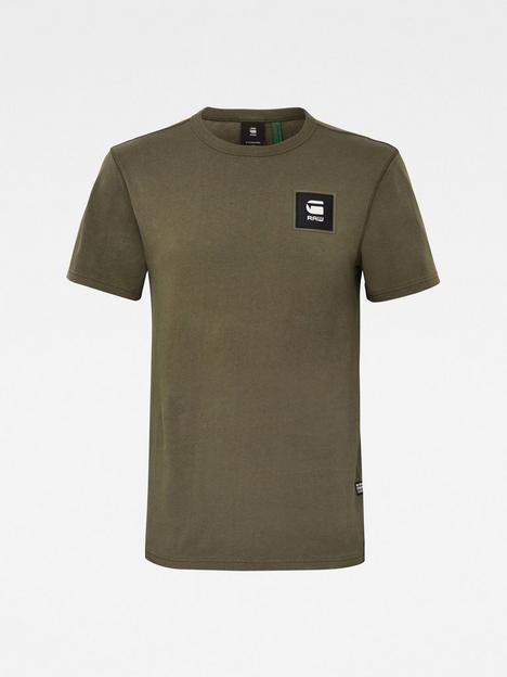 g-star-raw-badge-logo-t-shirt-khaki