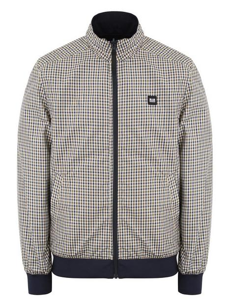 weekend-offender-weekend-offender-capricious-reversible-check-bomber-jacket-check-navy