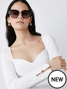 river-island-tessa-cat-stud-sunglasses-black