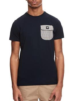weekend-offender-weekend-offender-lucky-bay-check-pocket-tee-navy