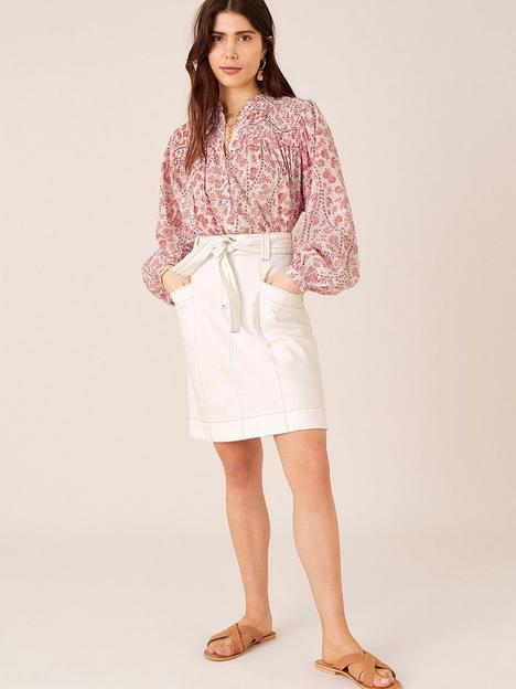 monsoon-organic-cotton-short-denim-skirt-ecru