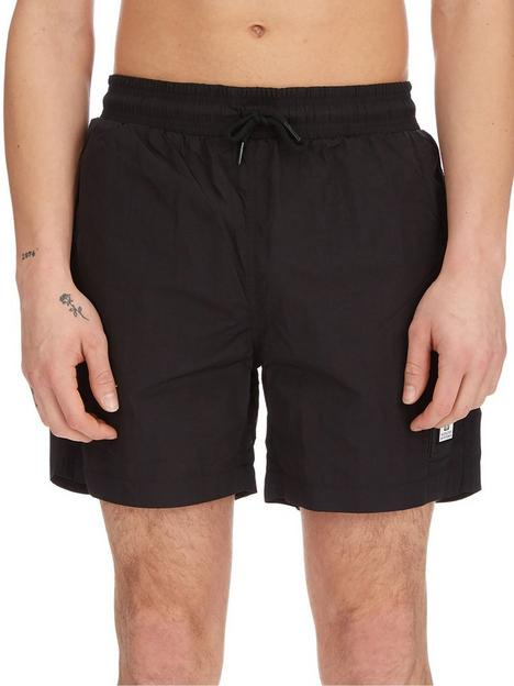 weekend-offender-weekend-offender-stacks-parachute-swim-shorts-black