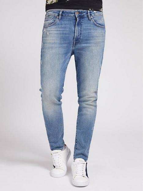 guess-guess-jeans-drake-tapered-5-pocket-low-rise-jean-with-abrasions