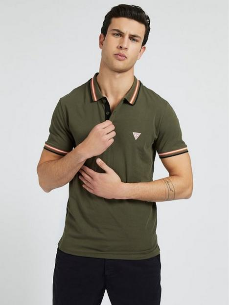 guess-guess-jeans-classic-tipped-jersey-polo-shirt