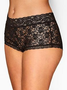 yours-yoursnbspblack-lace-short