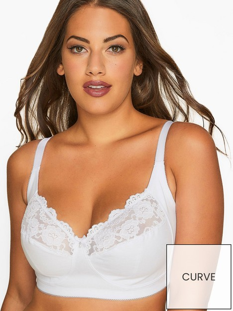 yours-yoursnbspnon-wire-lace-bra-white