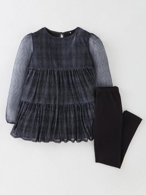 v-by-very-girls-2-piecenbspwoven-check-tunic-and-leggings-blueblack