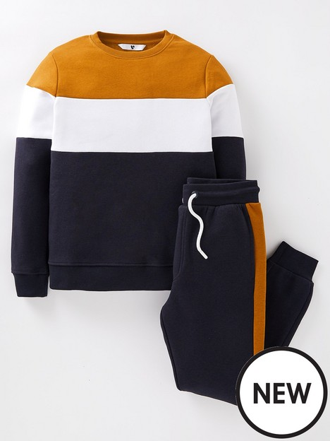 v-by-very-boys-cut-and-sew-crew-and-jogger-set-multi