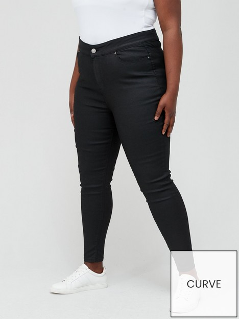 v-by-very-curve-high-waisted-coated-skinny-with-stretch-black