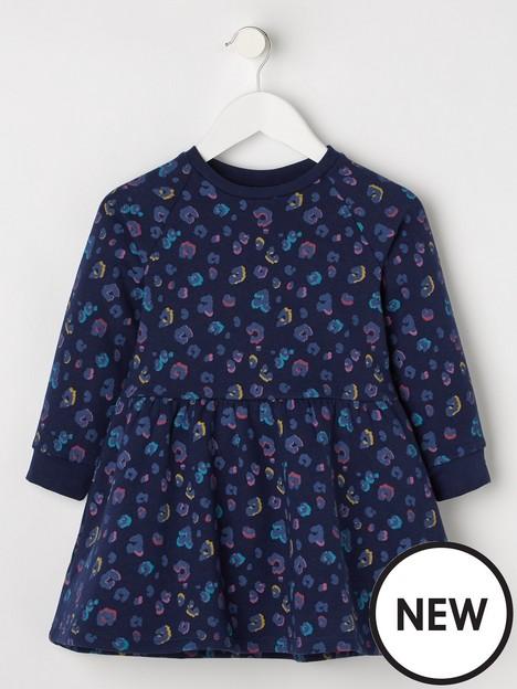 mini-v-by-very-girls-essential-animal-print-dress-blue