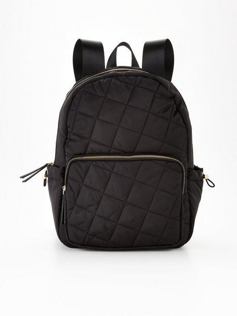 v-by-very-fay-nylon-commuter-backpack-black