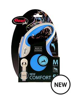 flexi-flexi-new-comfort-blue-5m-tape-dog-lead-medium