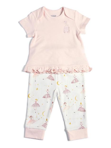 mamas-papas-baby-girls-ballerina-jersey-pyjamas-pink
