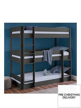 julian-bowen-trio-triple-stacker-bunk-anthracite
