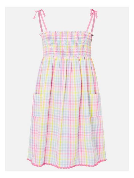 accessorize-girls-rainbow-check-dress-multi