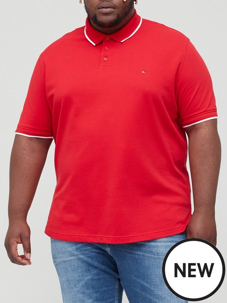 tommy-hilfiger-tommy-hilfiger-big-tall-basic-tipped-regular-fit-polo-shirt