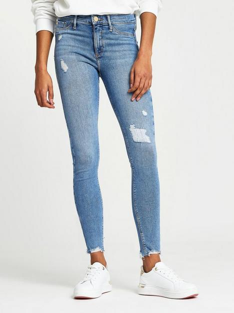 river-island-mid-rise-ripped-molly-jegging-light-blue