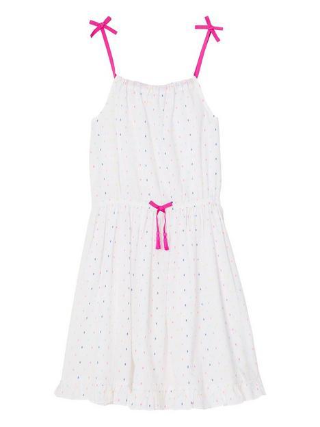 accessorize-girls-multi-coloured-dobby-dress-white