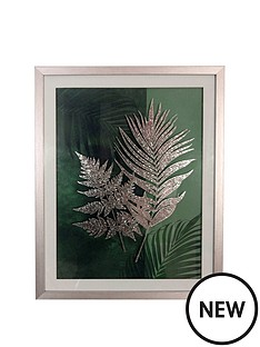 arthouse-fern-framed-print-with-foil
