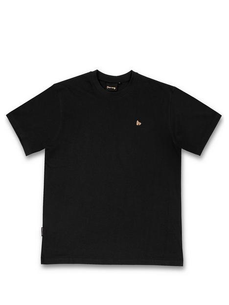 money-combo-patch-gold-t-shirtnbsp--black