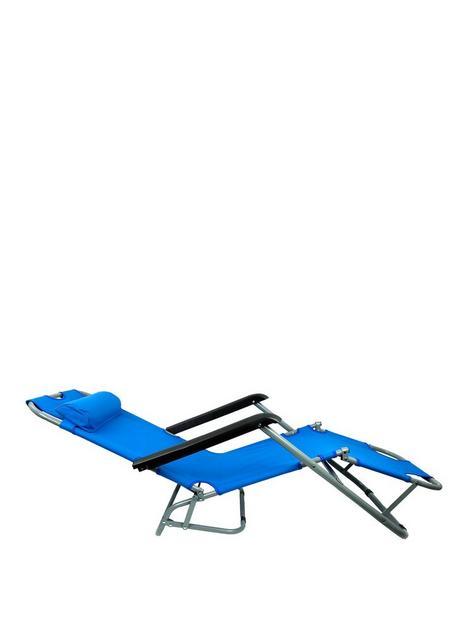 streetwize-accessories-metal-sun-lounger-blue