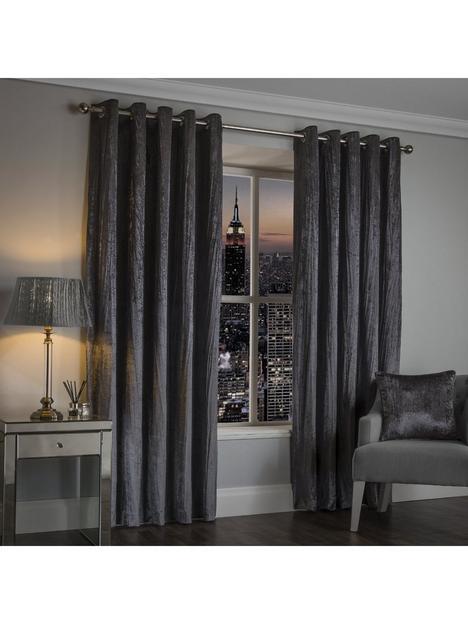 maison-crinkle-velvet-eyelet-curtains